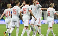 Lộ diện đội hình ra sân của Tây Ban Nha trước Nga