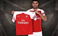 CHÍNH THỨC: Arsenal công bố tân binh thứ 3