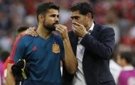 TIẾT LỘ: Tây Ban Nha bị loại do HLV Hierro không nghe lời Diego Costa