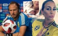 Thủ quân Thụy Điển muốn thắng Anh làm quà mừng con gái mới sinh
