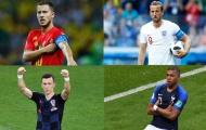 Dự đoán bán kết World Cup 2018: Anh, Pháp vượt vũ môn!
