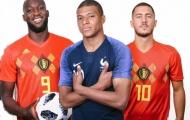 Siêu đội hình kết hợp Pháp - Bỉ: Ngoại hạng Anh chiếm 8 suất