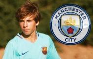 Tài năng trẻ dứt áo rời Barca, gia nhập Man City