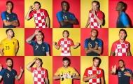 Đội hình kết hợp Pháp - Croatia: Mandzukic đánh bại Giroud