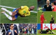 Những khoảnh khắc xấu xí tại World Cup 2018: Ronaldo đánh nguội; Neymar, Mbappe ăn vạ