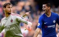 AC Milan sẵn sàng biến Donnarumma thành 'vật tế thần' trong thương vụ Morata