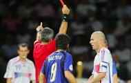 Sau 12 năm, trọng tài tiết lộ sự thật về chiếc thẻ đỏ của Zidane