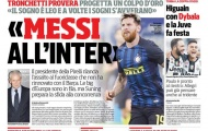 Inter chính thức lên tiếng về việc mua Messi