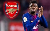 LỘ bằng chứng Ousmane Dembele sắp chuyển đến Arsenal