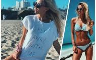 Tranh thủ nghỉ Hè, bạn gái Marco Reus giấu quần tắm biển