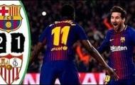 Highlights: Sevilla 1-2 Barcelona (Siêu cúp Tây Ban Nha)