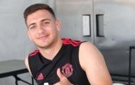 Man Utd đón tin vui từ tân binh Diogo Dalot