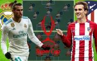 Real Madrid vs Atletico Madrid: Kền kền trắng sử dụng đội hình nào khi không còn Ronaldo?
