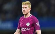 Đề cử tiền vệ Champions League: 'Kẻ phá bĩnh' De Bruyne