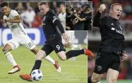 Rooney lại làm rung chuyển MLS, lập cú đúp có siêu phẩm sút phạt