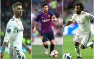 5 'kẻ chung tình' nổi tiếng nhất tại La Liga 2018/2019: M10 xứng danh huyền thoại