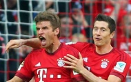 Giành danh hiệu đầu tiên trong mùa giải, Muller đưa Lewandowski lên 'tận mây xanh'
