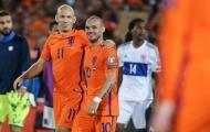 Siêu đội hình Wesley Sneijder từng sát cánh