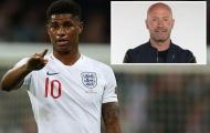 'Cứ ở Man Utd, Rashford không thể trở thành một tiền đạo giỏi'