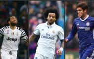 Top 10 hậu vệ trái 'hot' nhất hiện nay