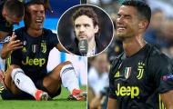 Owen Hargreaves nói điều phũ phàng về chiếc thẻ đỏ của Ronaldo
