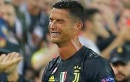 SỐC: Trọng tài không thấy Ronaldo phạm lỗi nhưng vẫn phạt thẻ đỏ