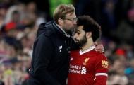 Hành động khó tin của Klopp với Salah sau khi Sturridge ghi bàn