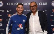 Hazard: 'Sarri là cha của Jorginho'