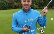 Sắp cập bến Aston Villa, John Terry vẫn có hành động khiến CĐV Chelsea ấm lòng