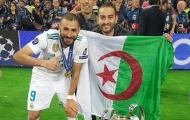 Hết cửa lên tuyển Pháp, sao Real hỏi FIFA thủ tục để khoác áo Algeria
