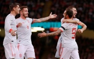 5 điểm nhấn Wales 1-4 Tây Ban Nha: Sự 'tàn nhẫn' của Bò tót