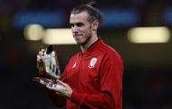 Gareth Bale nhận Chiếc giày vàng và nhìn xứ Wales thua thảm trên sân nhà