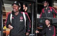 Cầu  thủ Man Utd lo lắng thấy rõ khi đặt chân tới London
