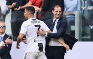 Allegri: 'Bàn thắng thứ 2 của Ronaldo là tác phẩm của một cầu thủ dị thường'