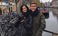 Tận dụng thời gian nghỉ hiếm hoi, Dybala đưa bạn gái đến Amsterdam
