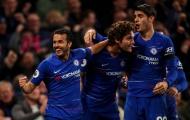 Bộ ba TBN rực sáng, Chelsea chiếm lấy ngôi nhì của Liverpool