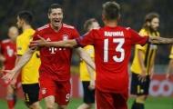 Lewandowski lập cú đúp, Bayern Munich bay cao ở Champions League