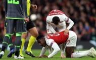 Welbeck chấn thương, sao Arsenal gửi lời động viên ý nghĩa