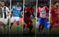 5 danh thủ châu Phi xuất sắc nhất hiện tại: Đôi cánh khuấy đảo nước Anh