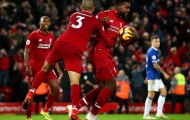 Klopp nói lời 'ấm lòng' với người hùng Liverpool bắn hạ Everton