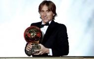Modric chỉ ra 3 cái tên lẽ ra đoạt QBV nếu không vì Ronaldo và Messi