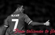 Sanchez, từ 'talisman' của Arsenal đến 'thất bại' của Man Utd như thế nào?