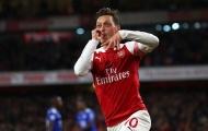 5 ứng viên có thể thay thế Mesut Ozil tại Arsenal