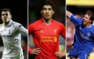Đội hình 11 gương mặt đỉnh nhất chưa từng vô địch Premier League