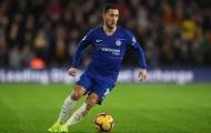 Hazard: 'Tôi là mảnh ghép duy nhất Man City còn thiếu'