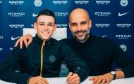 CHÍNH THỨC: Thần đồng nước Anh ký hợp đồng 6 năm với Man City