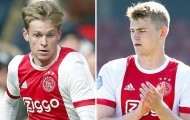Barcelona sẵn sàng đổi người để lấy cặp đôi 150 triệu của Ajax