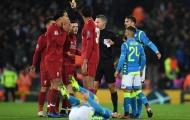 Liverpool trả giá cực đắt cho chiến thắng trước Napoli