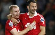 Với Gary Neville, Scholes, Ferdinand hay Giggs đều không phải là nhất