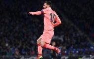 Vượt qua Xavi, Messi đạt kỷ lục mới trong ngày Barca hủy diệt Levante